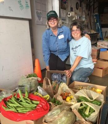 Hovander Produce For Food Bank
